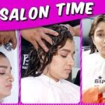 Shefali Bagga PAMPERS Herself With Hair Treatment | Gives Hair Tips | Salon Time | Bigg Boss 13