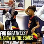 Dior Johnson & Marquis Cook Get LeBron OUT HIS SEAT w/ NASTY Play! SFG vs New Zealand Squad!
