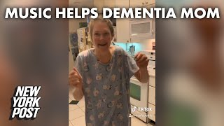 Mom tortured by dementia is transformed by Fleetwood Mac song, recorded on TikTok | New York Post