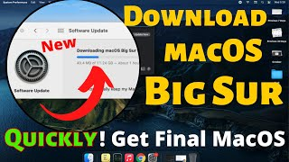 How to Download and Install macOS Big Sur Update on Mac, MacBook 2020 Update